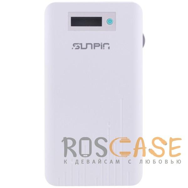 Фото SunPin D90 | Портативное зарядное устройство Power Bank с дисплеем (9000mAh 1USB + встроенный кабель Lightning)