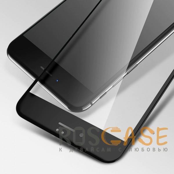 """Фотография Черное 5D защитное стекло для Apple iPhone 7 / 8 (4.7"""") на весь экран"""