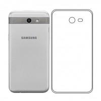 Ультратонкий силиконовый чехол для Samsung J330 Galaxy J3 (2017)