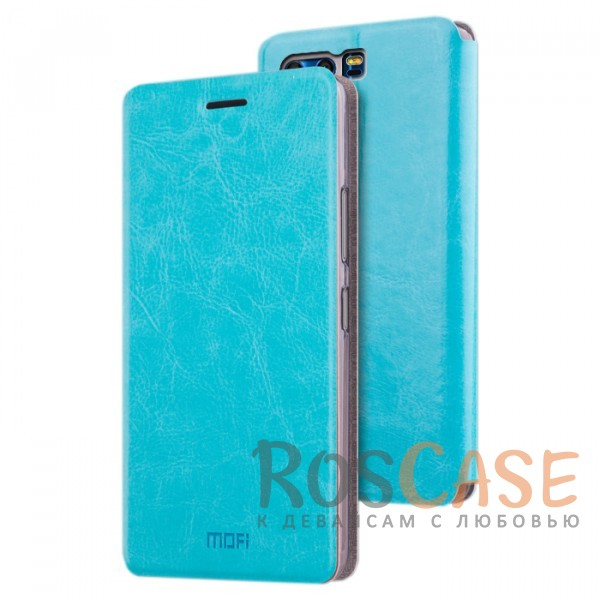 Классический кожаный чехол-книжка MOFI Rui с металлической вставкой в обложке и функцией подставки для Huawei Honor 9 (Синий)Описание:бренд - Mofi;разработан для&amp;nbsp;Huawei Honor 9;материалы - термополиуретан, искусственная кожа, металл;защита со всех сторон;предусмотрены все функциональные вырезы;трансформируется в подставку;формат&amp;nbsp;- чехол-книжка;классический дизайн.<br><br>Тип: Чехол<br>Бренд: Mofi<br>Материал: Искусственная кожа