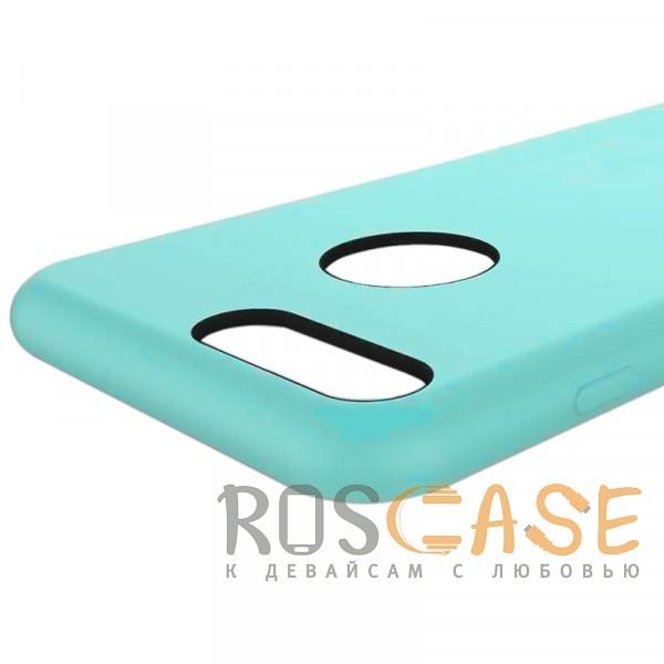 """Изображение Голубой / Light Blue Rock Silicon   Ультратонкий чехол для Apple iPhone 7 plus / 8 plus (5.5"""") из силикона"""