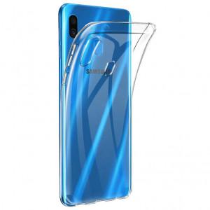 Clear Case   Прозрачный TPU чехол 2мм  для Samsung Galaxy A20 (A205F)