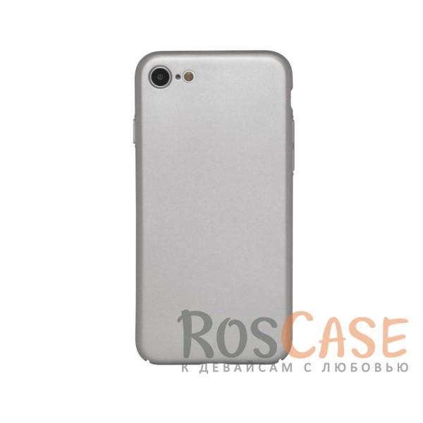 Матовая soft-touch накладка Joyroom из ударостойкого пластика с дополнительной защитой углов для Apple iPhone 7 / 8 (4.7) (Серебряный)Описание:бренд - Joyroom;совместимость - Apple iPhone 7 / 8 (4.7);материал - пластик;тип - накладка.<br><br>Тип: Чехол<br>Бренд: Epik<br>Материал: Пластик