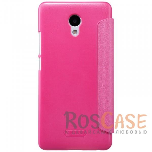 Изображение Розовый Nillkin Sparkle | Чехол-книжка с функцией Sleep Mode для Meizu M5 Note