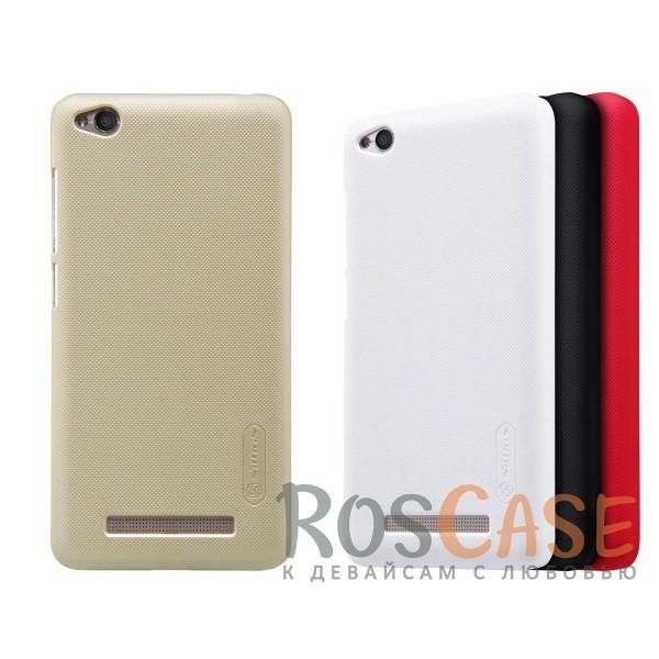 Чехол Nillkin Matte для Xiaomi Redmi 4a (+ пленка)<br><br>Тип: Чехол<br>Бренд: Nillkin<br>Материал: Поликарбонат