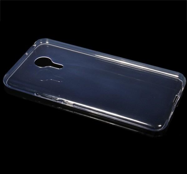 Фото Ультратонкий силиконовый чехол для Meizu Pro 5