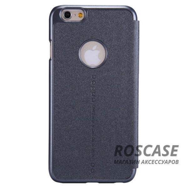 Кожаный чехол (книжка) Nillkin Sparkle Series для Apple iPhone 6/6s (4.7)  (Черный)Описание:разработчик и производитель Nillkin;изготовлен из синтетической кожи и поликарбоната;фактурная поверхность;тип конструкции: чехол-книжка;совместим с Apple iPhone 6/6s (4.7).&amp;nbsp;Особенности:внутренняя отделка из микрофибры;ультратонкий;не скользит в руках;яркая, насыщенная палитра цветов.<br><br>Тип: Чехол<br>Бренд: Nillkin<br>Материал: Искусственная кожа