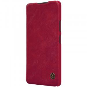 Nillkin Qin   Чехол-книжка из Premium экокожи  для Xiaomi Redmi Note 10 Pro
