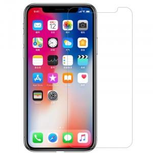 """Прозрачное защитное стекло с закругленными краями и олеофобным покрытием для Apple iPhone X (5.8"""")"""