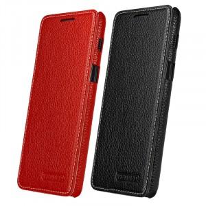 TETDED натур. кожа | Чехол-книжка для для Samsung Galaxy A8 2018 (A530)