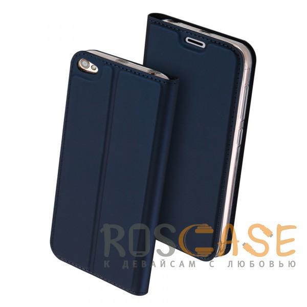 Изображение Синий Dux Ducis | Чехол-книжка для Xiaomi Redmi Note 5A / Redmi Y1 Lite с подставкой и карманом для визиток