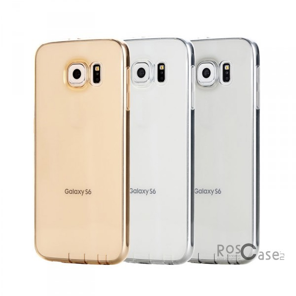 фото TPU чехол ROCK Ultrathin Slim Jacket для Samsung Galaxy S6 G920F/G920D Duos