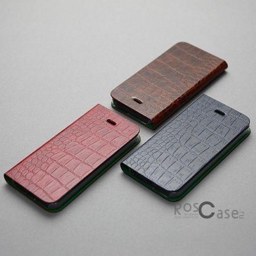 фото кожаный чехол AVOC Nuovo Diary для Apple iPhone 5/5S/5SE