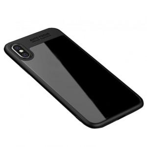 "iPaky Hard Original | Прозрачный чехол для Apple iPhone X (5.8"") с защитными бортиками"