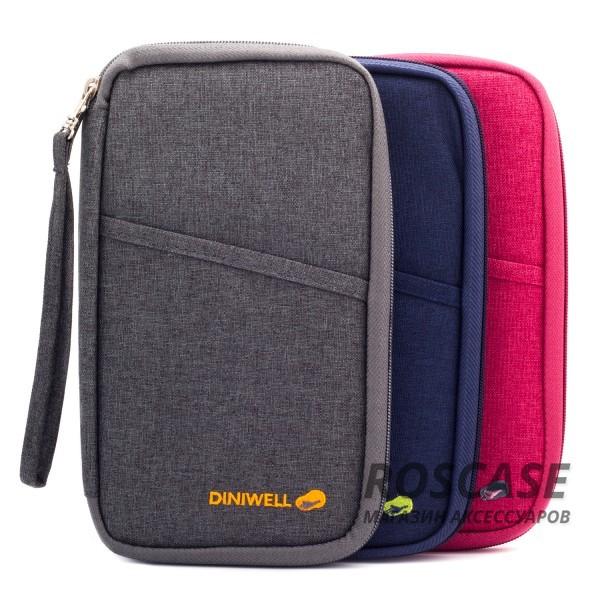 Фотография Дорожная сумка-клатч Diniwell для телефона, документов и карт из влагозащитного материала