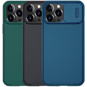 Nillkin CamShield Pro | Чехол из пластика и TPU с защитой камеры для iPhone 13 Pro Max
