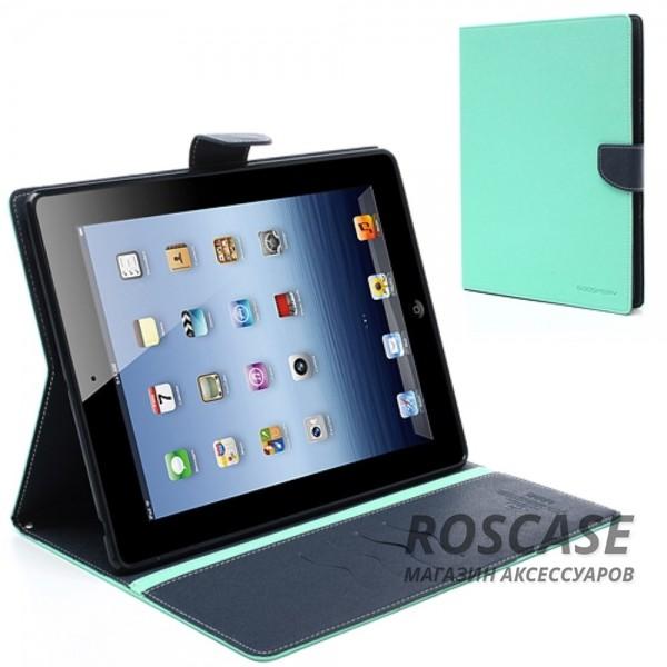 Чехол (книжка) Mercury Fancy Diary series для Apple iPad 2/3/4Описание:производитель  -  бренд&amp;nbsp;Mercury;совместим с Apple iPad 2/3/4;материалы  -  искусственная кожа, термополиуретан;форма  -  чехол-книжка.&amp;nbsp;Особенности:рельефная поверхность;все функциональные вырезы в наличии;внутренние кармашки;магнитная застежка;защита от механических повреждений;трансформируется в подставку.<br><br>Тип: Чехол<br>Бренд: Mercury<br>Материал: Искусственная кожа
