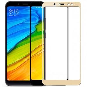 5D защитное стекло для Xiaomi Redmi Note 5 Pro / Note 5 (AI Dual Camera) на весь экран