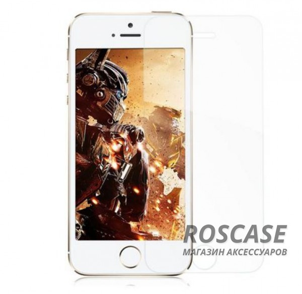 Фото Защитное стекло ROCK Premium Tempered (2.5D) Glass (Anti-Blue Light) для Apple iPhone 5/5S/SE