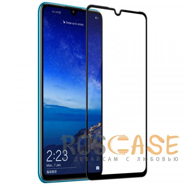Фотография Черный 5D защитное стекло для Huawei P30 lite / Nova 4E на весь экран