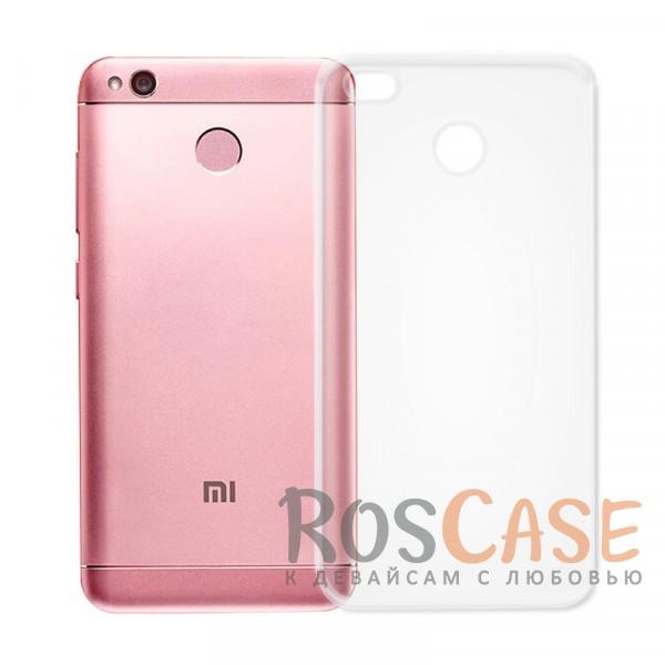 Ультратонкий силиконовый чехол Ultrathin 0,33mm для Xiaomi Redmi 4X (Бесцветный (прозрачный))Описание:совместим с Xiaomi Redmi 4X;ультратонкий дизайн;материал - TPU;тип - накладка;прозрачный;защищает от ударов и царапин;гибкий.<br><br>Тип: Чехол<br>Бренд: Epik<br>Материал: TPU