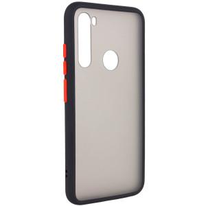 Противоударный матовый полупрозрачный чехол  для Xiaomi Redmi Note 8T
