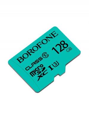 Карта памяти Borofone 128GB microSD Card Class 10