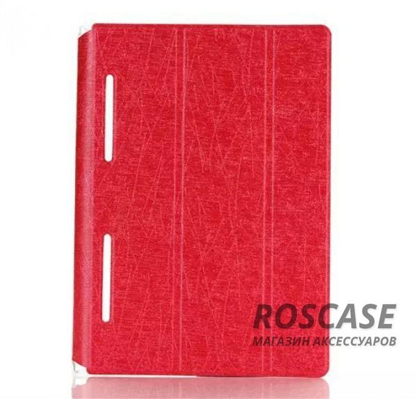 Кожаный чехол-книжка TTX Elegant Series для Lenovo Yoga Tablet 3-X50 10 (Красный)Описание:компания&amp;nbsp;TTX;совместим c&amp;nbsp;Lenovo Yoga Tablet 3-X50 10;материалы  -  искусственная кожа, поликарбонат;форма  -  чехол-книжка.&amp;nbsp;Особенности:есть все нужные вырезы;защита от ударов и царапин;функция подставки;на нем не заметны отпечатки пальцев;не скользит в руках.<br><br>Тип: Чехол<br>Бренд: TTX<br>Материал: Искусственная кожа