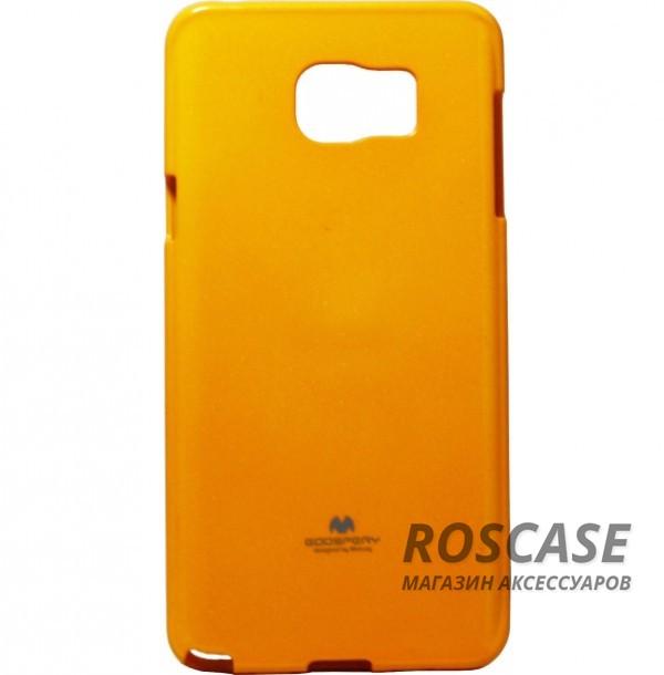 TPU чехол Mercury Jelly Color series для Samsung Galaxy Note 5 (Желтый)Описание:изготовитель  -  Mercury;совместимость - Samsung Galaxy Note 5;материал чехла  -  термополиуретан (ТПУ);форма  -  накладка на заднюю панель;.Особенности:глянцевый;в наличии все вырезы;ультратонкий;износостойкий.<br><br>Тип: Чехол<br>Бренд: Mercury<br>Материал: TPU