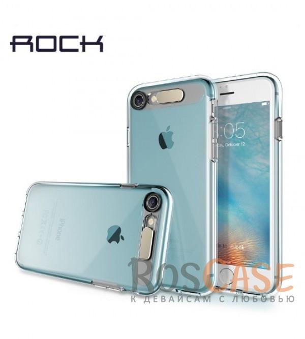 Светящийся TPU чехол ROCK Tube Series для Apple iPhone 7 (4.7) (Синий / Transparent Blue)Описание:производитель  - &amp;nbsp;Rock;совместим с Apple iPhone 7 (4.7);материал  -  термополиуретан;тип  -  накладка.&amp;nbsp;Особенности:светится во время входящих звонков;прочный;легко чистится;не увеличивает габариты;защита экрана благодаря выступающим бортикам;имеет все функциональные вырезы;защищает от царапин и ударов.<br><br>Тип: Чехол<br>Бренд: ROCK<br>Материал: TPU