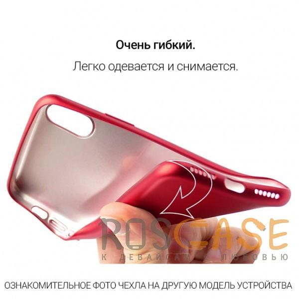 Изображение Красный J-Case THIN | Гибкий силиконовый чехол для Samsung Galaxy S9