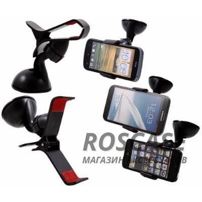 Автодержатель Melkco Gofove Car MountОписание:производитель  - &amp;nbsp;Melkco;совместимость  -  для смартфонов с диагональю экрана до 5,5 дюйма;материал - пластик;тип  -  автодержатель.&amp;nbsp;Особенности:вращается на 360 градусов;не царапает гаджет;надежная система фиксации;присоска.<br><br>Тип: Автодержатель<br>Бренд: Melkco