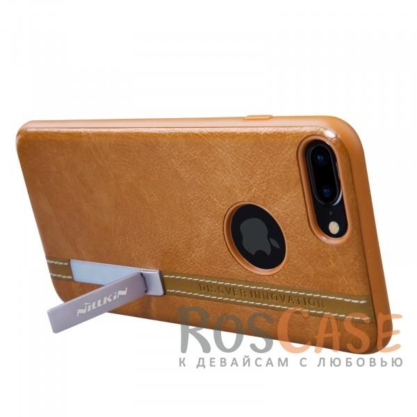 "Фотография Светло-коричневый Nillkin Phenom | Чехол для Apple iPhone 7 plus / 8 plus (5.5"") с подставкой"