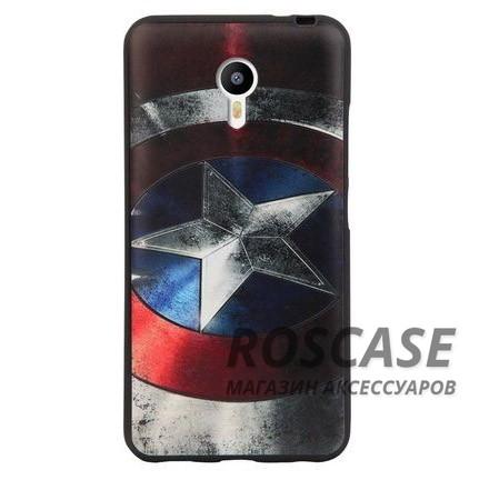 Чехол-накладка Rebus для Meizu M2 / M2 mini (Captain America)Описание:разработан для Meizu M2 / M2 mini;материал: пластик;форма: накладка.&amp;nbsp;Особенности:ультратонкое исполнение;полный набор функциональных прорезей;оригинальный дизайн;высокоэффективный уровень защиты;износостойкая поверхность.<br><br>Тип: Чехол<br>Бренд: Epik<br>Материал: Пластик