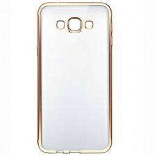 Силиконовый чехол для Samsung G532F Galaxy J2 Prime (2016) с глянцевой окантовкой