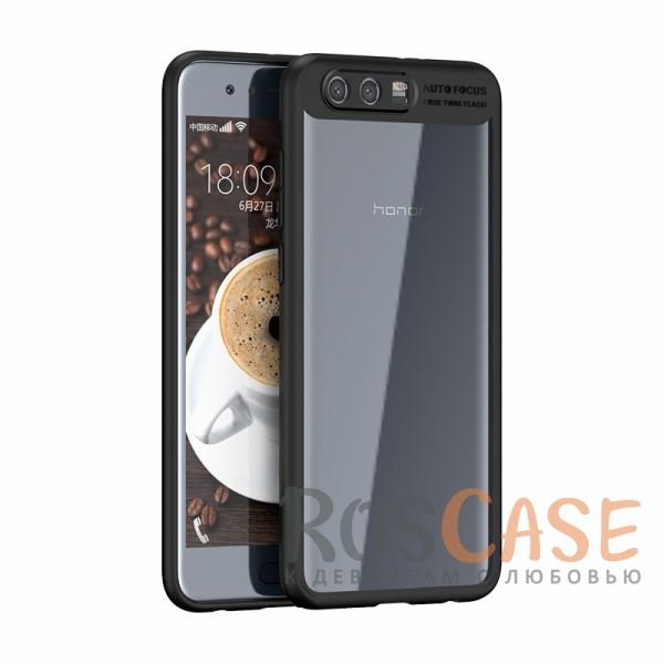Ультратонкий чехол iPaky (original) Hard Original с глянцевой прозрачной вставкой и защитными бортиками вокруг камеры для Huawei Honor 9 (Черный)Особенности:совместимость - Huawei Honor 9;материалы - поликарбонат, термополиуретан;тип - накладка;прозрачная вставка из поликарбоната;легко устанавливается;дополнительная защита камеры;дублирующие кнопки для защиты клавиш;ультратонкий дизайн;предусмотрены все функциональные вырезы.<br><br>Тип: Чехол<br>Бренд: iPaky<br>Материал: Поликарбонат
