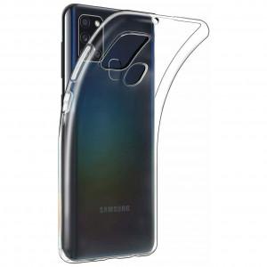 Clear Original | Прозрачный TPU чехол 2мм для Samsung Galaxy A21s