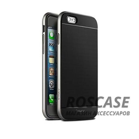 Чехол iPaky TPU+PC для Apple iPhone 6/6s (4.7) (Черный / Серебряный)Описание:производитель: iPaky;совместимость: смартфон Apple iPhone 6/6s (4.7);материалы изделия: термополиуретан и поликарбонат;форм-фактор: накладка.Особенности:строгий и стильный дизайн;имеет каркас из поликарбоната;износостойкий и прочный;ультратонкий;легко чистится.<br><br>Тип: Чехол<br>Бренд: Epik<br>Материал: TPU