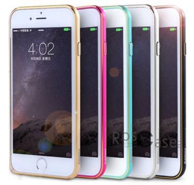 Металлический бампер Remax (защелка) для Apple iPhone 6/6s (4.7)Описание:производитель  - &amp;nbsp;Remax;совместимость  -  Apple iPhone 6/6s (4.7);материал  -  металл;тип  -  бампер.&amp;nbsp;Особенности:имеет все нужные вырезы;тонкий дизайн;не деформируется;надежное крепление;защита боковых кнопок.<br><br>Тип: Бампер<br>Бренд: Remax