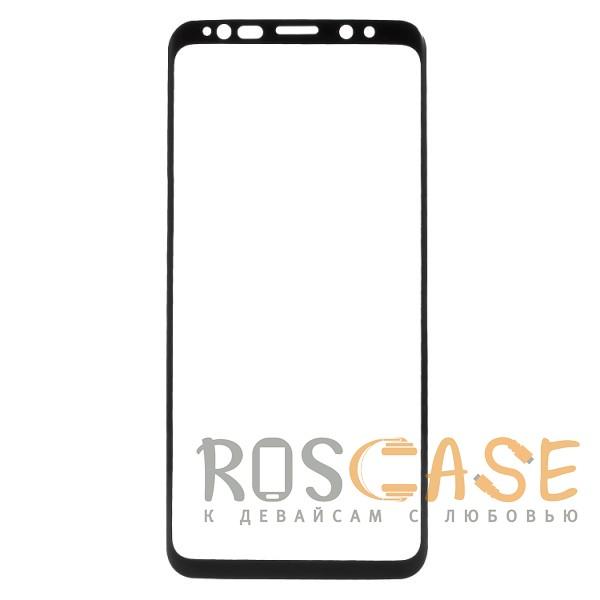 Фото Черный Объемное защитное 3D стекло для Samsung Galaxy S9 на весь экран