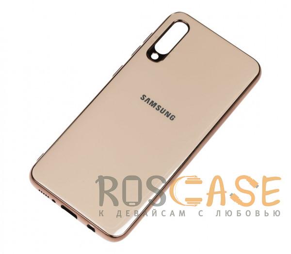 Фотография Золотой TPU чехол GLOSSY LOGO для Samsung Galaxy A50 (A505F) / A50s / A30s