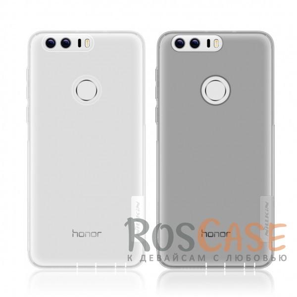 TPU чехол Nillkin Nature Series для Huawei Honor 8Описание:производитель  -  бренд&amp;nbsp;Nillkin;совместим с Huawei Honor 8;материал  -  термополиуретан;тип  -  накладка.&amp;nbsp;Особенности:в наличии все вырезы;не скользит в руках;тонкий дизайн;защита от ударов и царапин;прозрачный.<br><br>Тип: Чехол<br>Бренд: Nillkin<br>Материал: TPU