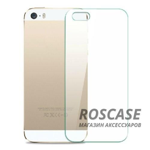 Фото H+ | Защитное стекло для Apple iPhone 4/4S (на з. панель)(кар. упаковка)