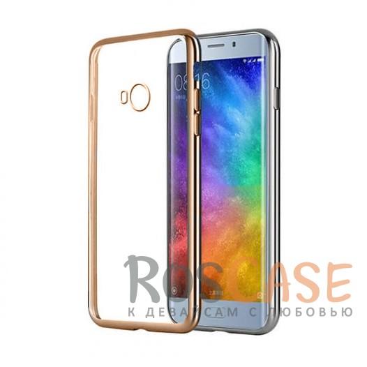 Прозрачный силиконовый чехол для Xiaomi Mi Note 2 с глянцевой окантовкой (Золотой)Описание:совместим с Xiaomi Mi Note 2;глянцевая окантовка;материал - TPU;тип - накладка.<br><br>Тип: Чехол<br>Бренд: Epik<br>Материал: TPU