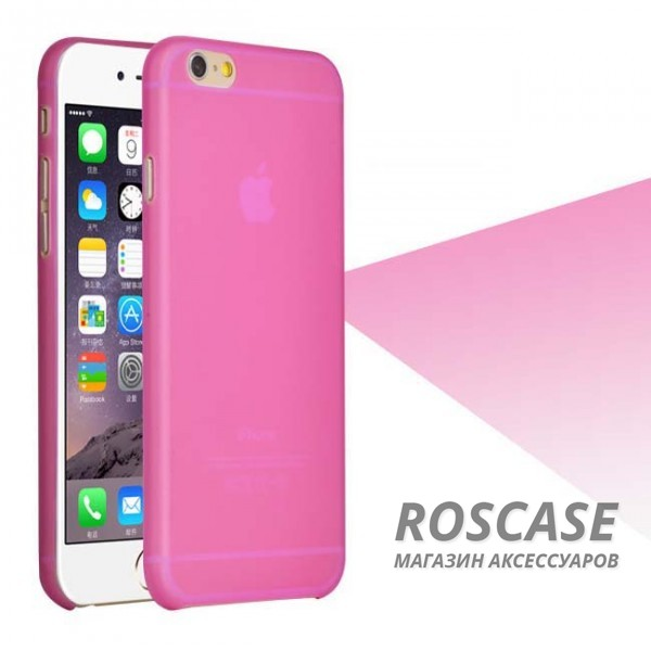 Пластиковая накладка Ultrathin 0.3mm для Apple iPhone 6/6s (4.7) (Малиновый)Описание:компания разработчик: Epik;совместимость с устройством модели: Apple iPhone 6/6s (4.7);материал изделия: пластик;конфигурация: чехол в виде накладки.Особенности:элегантный дизайн;высокий класс износоустойчивости и прочности;не увеличивает объем смартфона;простая установка и надежная фиксация;имеет все необходимые функциональные вырезы.<br><br>Тип: Чехол<br>Бренд: Epik<br>Материал: TPU