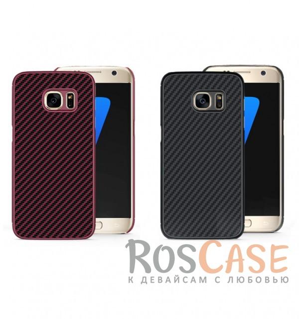 Чехол из карбона для Samsung G930F Galaxy S7Описание:производство бренда&amp;nbsp;Nillkin;разработано специально для Samsung G930F Galaxy S7;материал: поликарбонат, карбоновое покрытие;тип: накладка.&amp;nbsp;Особенности:все функциональные вырезы имеются;прочный и износостойкий;не ухудшает качество сигнала;на нем не заметны отпечатки пальцев;не деформируется.<br><br>Тип: Чехол<br>Бренд: Nillkin<br>Материал: TPU