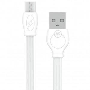 WK WDC-023 | Плоский дата кабель с разъемом MicroUSB (100 см)