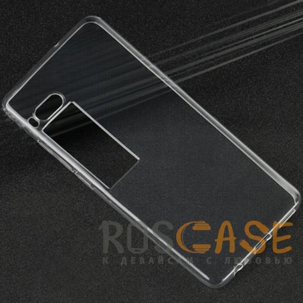 Изображение Бесцветный (прозрачный) Ультратонкий силиконовый чехол для Meizu Pro 7