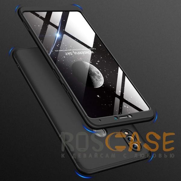 Фотография Черный GKK LikGus 360° | Двухсторонний чехол для Huawei Honor Note 10 с защитными вставками