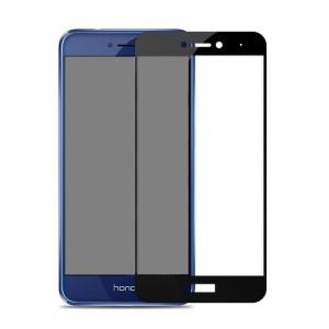 Тонкое олеофобное защитное стекло с цветной рамкой на весь экран для Huawei P8 Lite (2017)